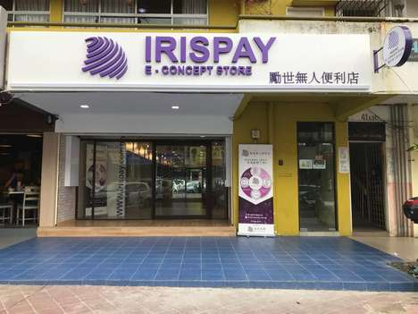 "Self-Serve Convenience Stores - Irispay's ""E-Concept Store"" in Malaysia is a Self-Service Store"