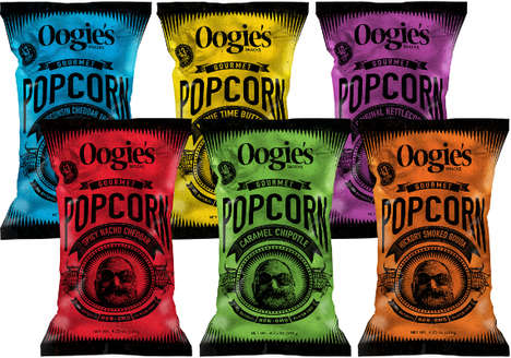Gourmet Whole-Grain Popcorn