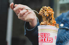 Indulgent Cheesesteak Ramen Cups
