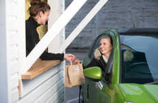 "Weight Loss Drive-Thrus - The Weight Watchers Drive-Thru Serves ""Healthy & Happy Meals"""