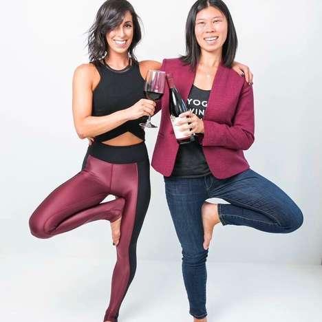 Vino-Fuelled Yoga Classes