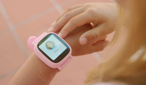 Safety-Focused Smartwatches - This Wearable Smartphone for Children Lets Parents Track Their Kids