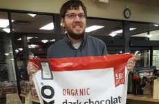 3-Foot-Tall Chocolate Bags - ChocXO is Selling 22-Pound Bags of Its Organic Chocolate