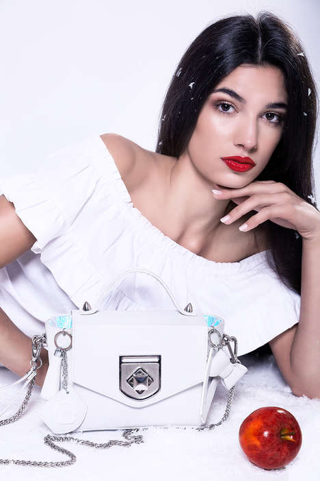 Apple Leather Handbags - LUCKYNELLY Makes the World's First Vegan Luxury Handbags from Fruit