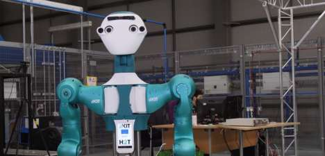 Assistive Retail Robots - The Armar-6 Robot Provides Labour Assistance to Warehouse Workers