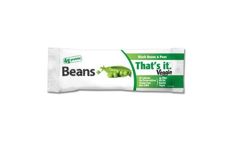 Bean-Based Snack Bars - 'That's It Nutrition' is Now Selling Bars Made from Black Beans and Veggies