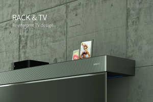 Shelf-Integrated TV Sets