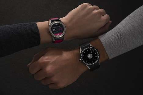 Compact Luxury Smartwatches - The Tag Heuer Connected Modular 41 Comes in Seven Different Models