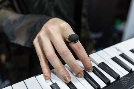 Musical Smart Rings - Enhancia Enhances Performance Through New Music Technology