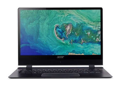 Slim LTE-Enabled Laptops - The 2018 Acer Swift 7 Laptop Has a 14 Inch 1080p Touchscreen