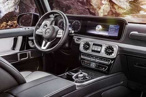 Luxury Vintage SUVs - Mercedes-Benz Redefined Its Vintage Collection with Modern Tech