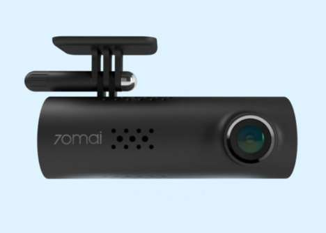 Voice Control Dash Cams - The '70MAI' Smart Dash Camera Records in Crisp Full HD
