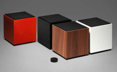 Cubic Multi-Room Loudspeakers - The Teenage Engineering OD-11 Speaker Comes in Four Color Options