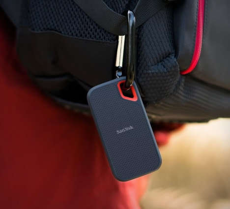 Weather-Resistant Backup Drives - The SanDisk Extreme Portable SSD Supports Rugged Lifestyles