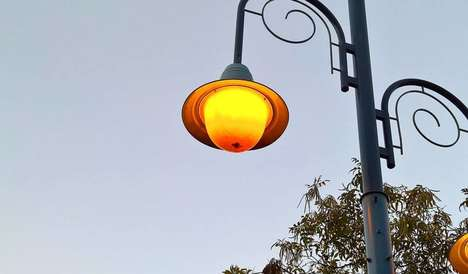 Dog Poo-Powered Lights - This Gas Street Lamp in Worcestershire, UK Runs On Canine Excrement