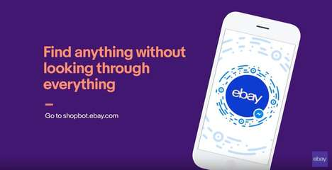 Smart Shopping Chatbots - eBay ShopBot Helps Users Shop Directly Through Facebook Messenger