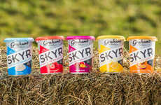 Icelandic-Style Scottish Yogurts - The Graham's Family Dairy Skyr Yogurts are Fat-Free