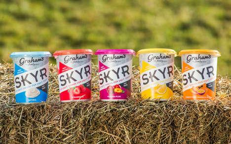 Icelandic-Style Scottish Yogurts