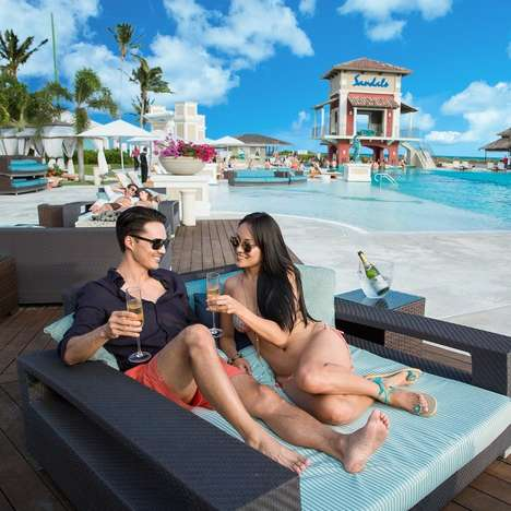Two-Day Wedding Planning Programs - Sandals' Test Drive Program Lets Couples 'Test' Their Wedding