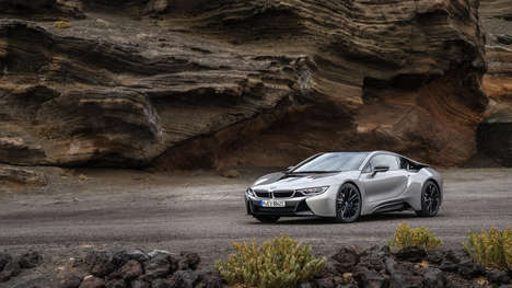 Performance-Built Hybrid Cars - The BMW I8 Coupe is the Company's Answer to a Stagnant Hybrid Market