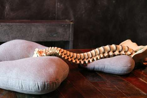 Chiropractor-Designed Support Pillows - The Posture Meets Design Pillow is Beautiful and Functional