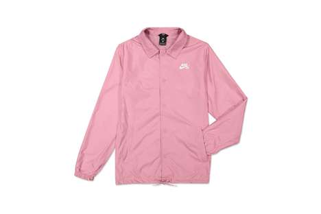 Millennial Pink Wind Breakers