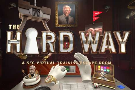 VR Fast Food Restaurants - Guests Can Play KFC's 'The Hard Way' at One Remodeled Location