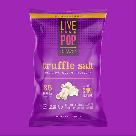 Guilt-Free Gourmet Popcorn - 'Live Love Pop' Makes Gourmet Popcorn Snacks That Emphasize Health