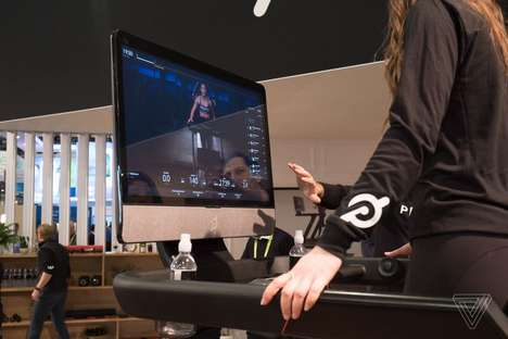Sleek Internet-Connected Treadmills - The Peloton Tread Can Livestream Over 7,000 Fitness Videos