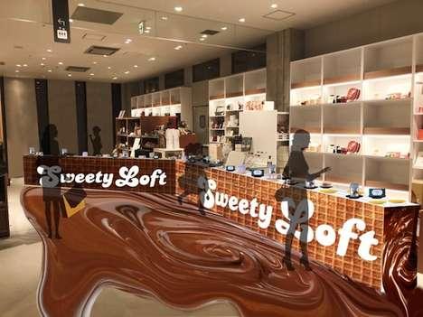 Chocolate Conveyor Pop-Ups