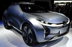 Chinese Electric Concept Cars - The Enverge is GAC's Attempt to Break into the Electric Car Market