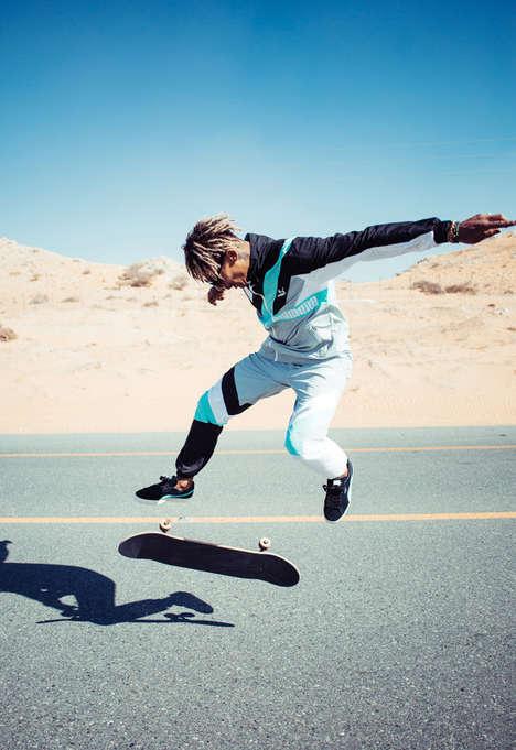 Co-Branded Athletic Skatewear