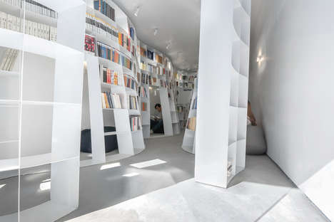 Niche-Filled Book Shops - 'Enclave Independent Bookshop' Features Hidden Spaces for Reading