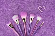 Glittery Makeup Brushes - Real Techniques Have Released an Eight-Piece Brush Set