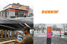 Next-Gen Donut Shops - Dunkin' Donuts' Concept Store Features Mobile Pickup and Drinks on Tap