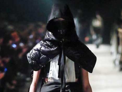Faceless High-Fashion Runways