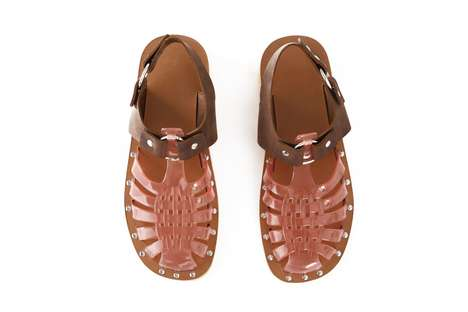Retro Jelly Sandals - Acne Studio's Hybrid Sandals are a Throwback to Classic Jelly Sandals