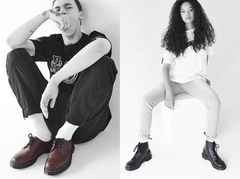 Iconic Streetwear Collaborations - The BAPE x Dr. Martens Collection Blends Old Fashion with New