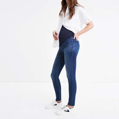 Fashionable Maternity Jeans