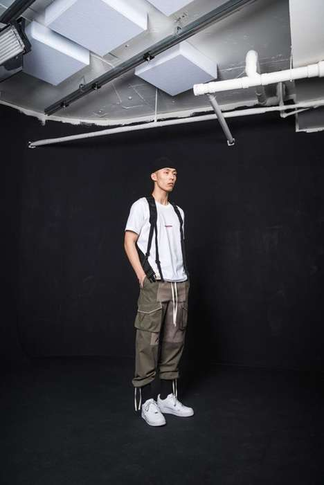 Korean Military-Inspired Streetwear - The IISE Collection is Inspired by Korean Military Garments