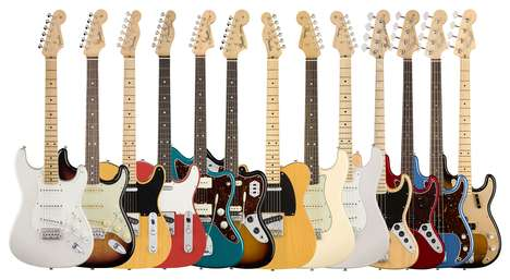 Tech-Updated Iconic Guitars - The Spirit of Innovation Continues in the New Fender Classic Guitars