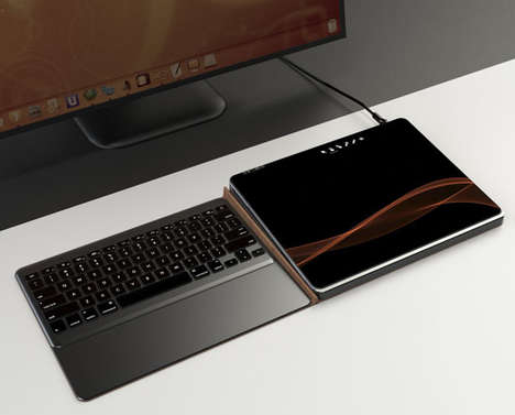 Heat-Dissipating Tablet Peripherals - The 'CoolPad' Docking Station Prevents Items from Overheating