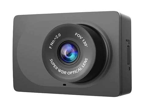 Miniature Vehicle Dash Cameras