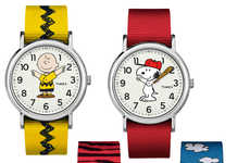Whimsical Cartoon Timepieces