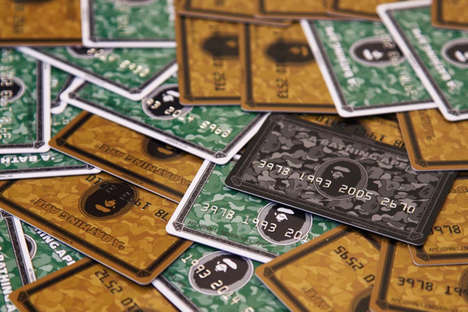 Streetwear Rewards Programs - The BAPE CARD Offers a New Way to Shop BAPE