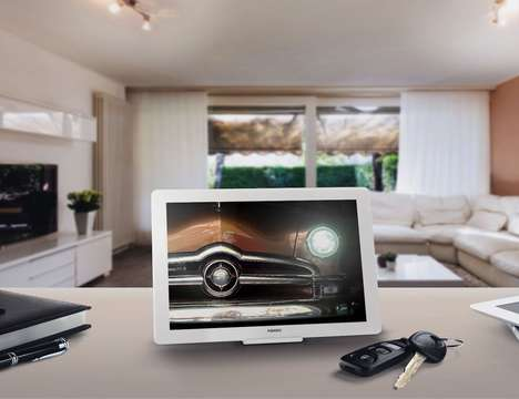 Centralized Smart Home Tablets - The Fibaro 'SWIPE' Home Tablet Works with Different Hand Gestures
