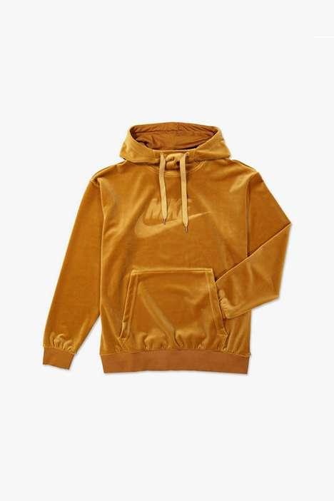 Sporty Golden Hoodies