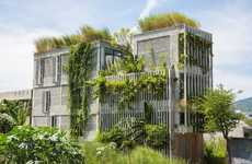 Ivy-Covered Office Spaces - 'The Modern Village Office' is Filled with Greenery
