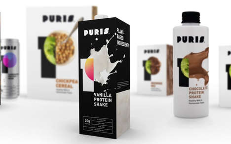 Allergen-Friendly Protein Drinks - The Puris Vanilla Protein Shake is Organic, Kosher and Halal