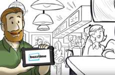 Tablet-Based Restaurant Trivia Games - Buzztime Encourages Customers to Stay Longer and Spend More
